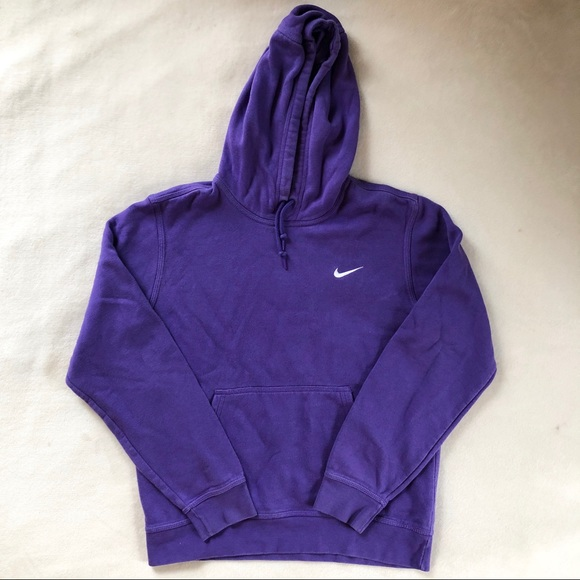 Purple Nike Pullover Hoodie